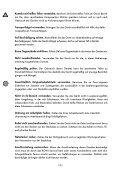 Bedienungsanleitung - Rowi - Seite 7