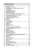Bedienungsanleitung - Rowi - Seite 3