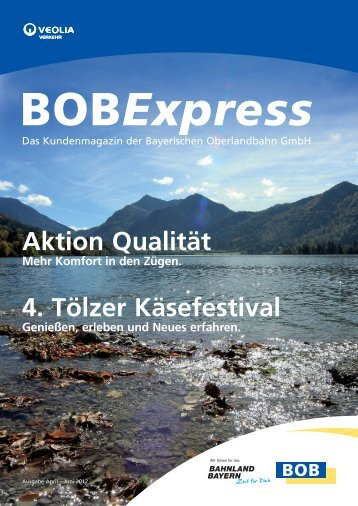 Der BOBExpress - Ihre Kundenzeitung (April - Juni 2012)