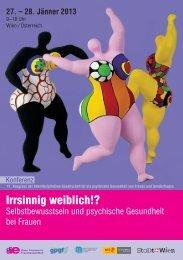 Irrsinnig weiblich!? - Alumni Club Medizinische Universität Wien