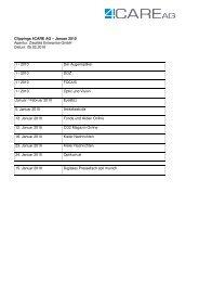 Pressespiegel als pdf - 4CARE GmbH