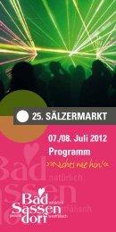 Sälzermarkt 2012 - Bad Sassendorf
