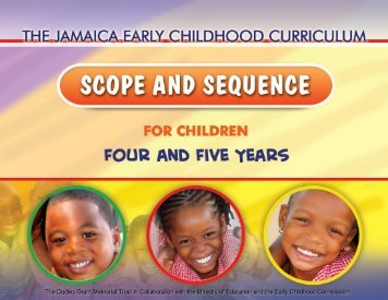 Scope And Sequence Curriculum - The Early Childhood Commission