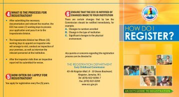 registration_brochur.. - The Early Childhood Commission