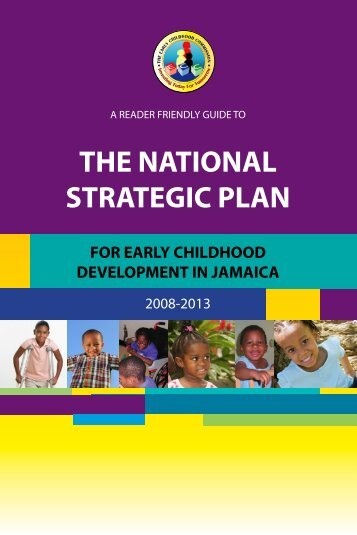 The National Strategic Plan - The Early Childhood Commission