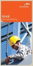 Montageanleitung - ArcelorMittal Construction Suisse SA