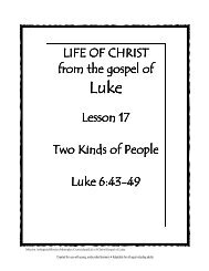 Lesson 17 - Two Kinds People - Mission Arlington