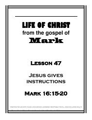 Life of christ - Mission Arlington