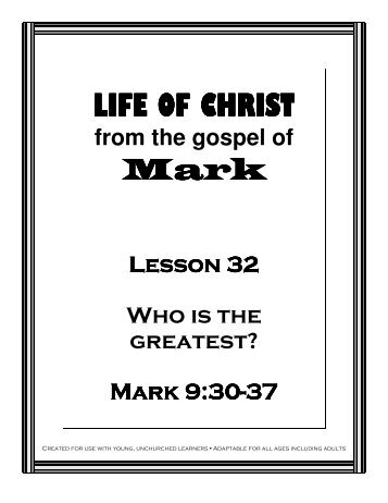 Lesson 32 - Who is Greatest - Mission Arlington