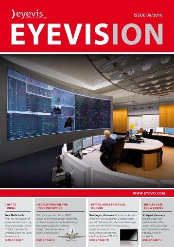eyevision issue 09/2010 - Eyevis Gmbh