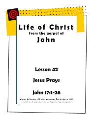 Jesus Prays - Mission Arlington