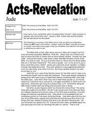 Jude 1:1-25 - Mission Arlington