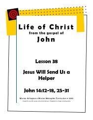 Jesus Will Send Us a Helper - Mission Arlington