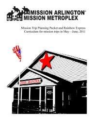 May-June 2011 - Mission Arlington