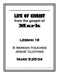 Lesson 19 - Woman Touches Clothes - Mission Arlington