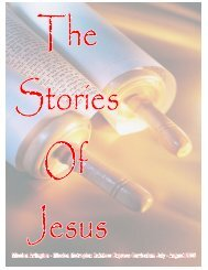 The Stories of Jesus - Mission Arlington
