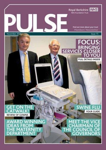 FOCUS: - The Royal Berkshire NHS Foundation Trust
