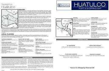 HUATULCO - Royal Caribbean International