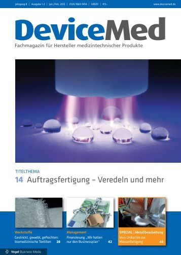 DM 01/12 - DeviceMed.de