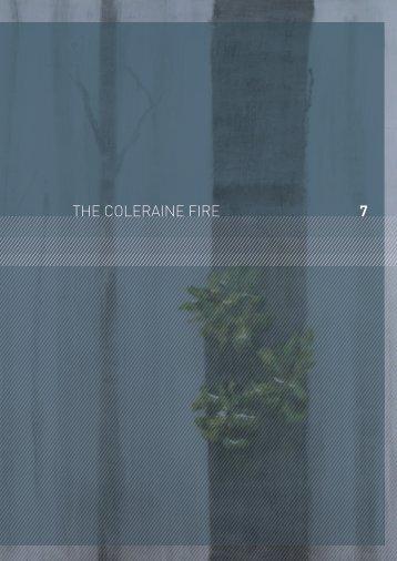 the Coleraine fires - 2009 Victorian Bushfires Royal Commission