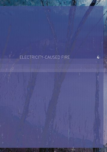 4 ElEctricity-causEd firE - 2009 Victorian Bushfires Royal Commission