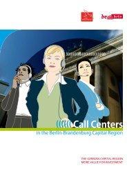 (((((( Call Centers - Berlin Partner GmbH