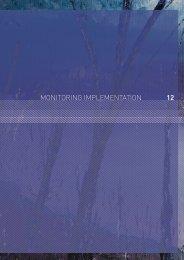 12 monitoring implementation - 2009 Victorian Bushfires Royal ...