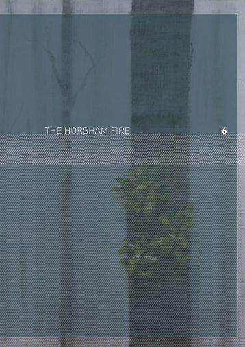 6 THE HORSHAM FIRE - 2009 Victorian Bushfires Royal Commission