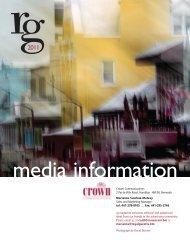 RG Magazine Media Kit - The Royal Gazette