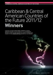 Caribbean & Central American Countries of the Future 2011/12 ...