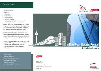 The Real Estate Portal - Berlin Partner GmbH