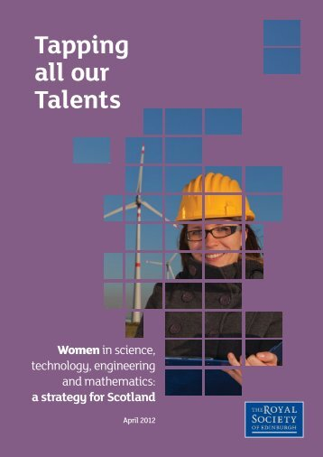 Tapping all our talents. Women in STEM - The Royal Society of ...