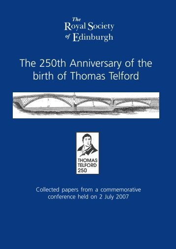 Telford Booklet FinalJC.p65 - The Royal Society of Edinburgh