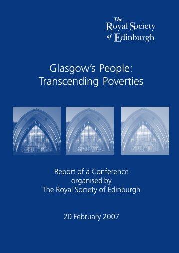Transcending Poverties - The Royal Society of Edinburgh