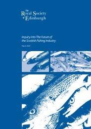 The Scottish Fishing Industry - The Royal Society of Edinburgh