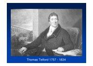Thomas Telford 1757 - 1834 - The Royal Society of Edinburgh