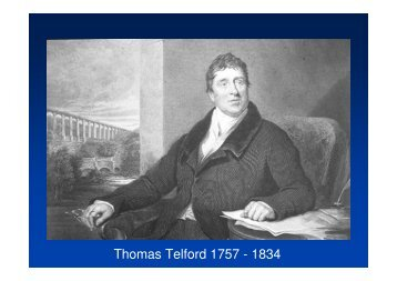 Thomas Telford 1757 - 1834 - The Royal Society of Edinburgh