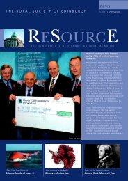 MAY 2006 - The Royal Society of Edinburgh