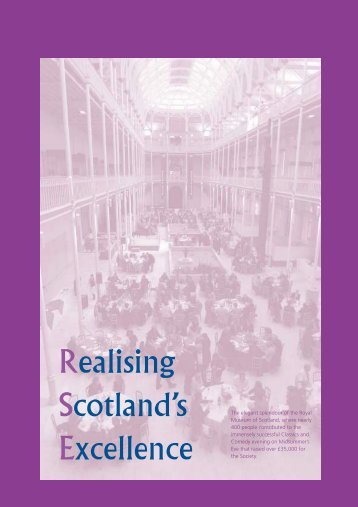 Realising Scotland's Excellence - The Royal Society of Edinburgh