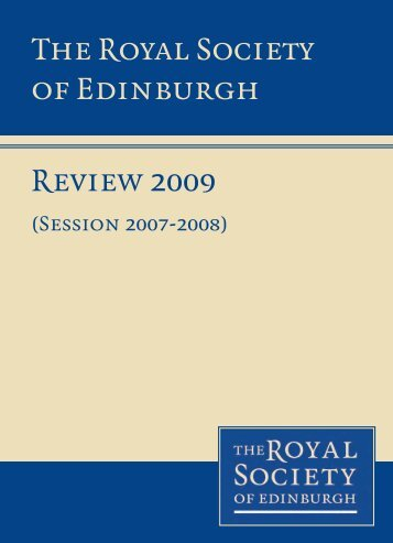 2009 - The Royal Society of Edinburgh