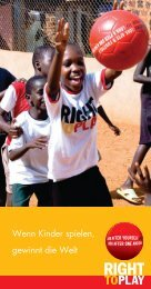 Wenn Kinder spielen, gewinnt die Welt - Rp-press.com