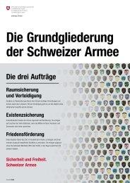 Die Grundgliederung der Schweizer Armee - Rp-press.com