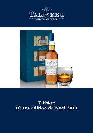 Talisker 10 ans édition de Noël 2011 - Rp-press.com