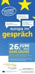 26.juni karlsruhe - Regierungspräsidium Stuttgart