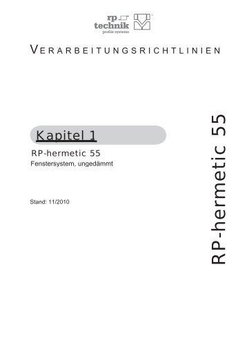 Dokumentation Verarbeitungsrichtlinie - RP Technik