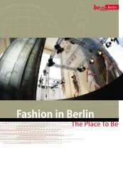 Fashion in Berlin - Berlin Partner GmbH