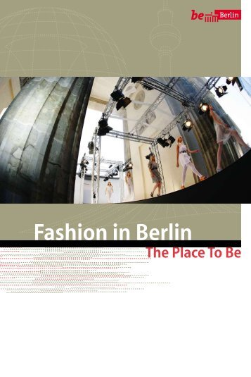 Fashion in Berlin - Berlin Partner GmbH