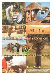 Parabolic Dish Cooker the