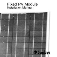 Fixed PV Module