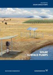 Grundfos solar surface pumps